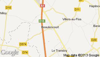 Plan de Beaulencourt