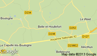 Plan de Belle-et-Houllefort