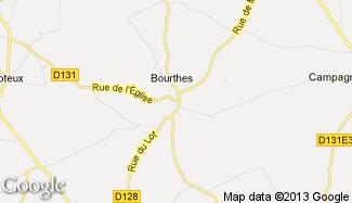 Plan de Bourthes
