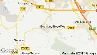 Plan de Bouvigny-Boyeffles