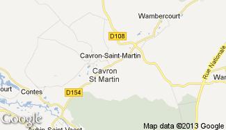 Plan de Cavron-Saint-Martin