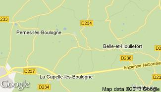 Plan de Conteville-lès-Boulogne