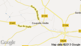 Plan de Coupelle-Vieille