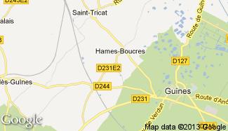 Plan de Hames-Boucres
