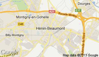 Plan de Hénin-Beaumont