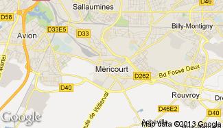 Plan de Méricourt