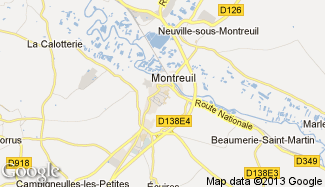 Plan de Montreuil