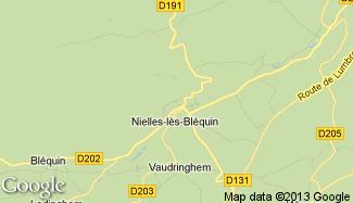 Plan de Nielles-lès-Bléquin
