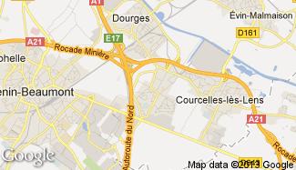 Plan de Noyelles-Godault