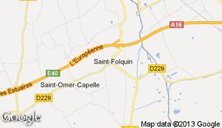 Plan de Saint-Folquin