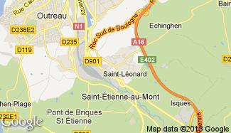 Plan de Saint-Léonard
