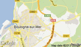Plan de Saint-Martin-Boulogne