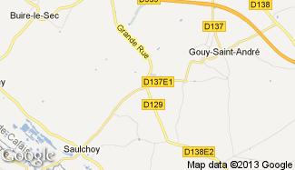 Plan de Saint-Rémy-au-Bois