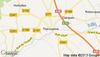 Plan de Thérouanne