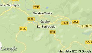 Plan de La Bourboule