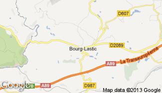 Plan de Bourg-Lastic