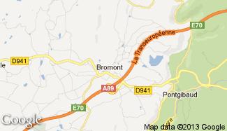 Plan de Bromont-Lamothe