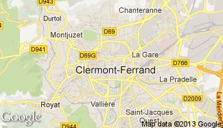 Plan de Clermont-Ferrand