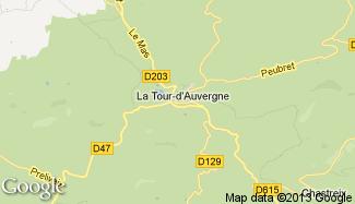 Plan de La Tour-d'Auvergne