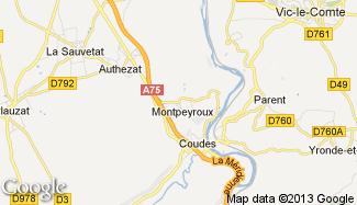 Plan de Montpeyroux