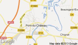 Plan de Pont-du-Château