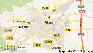 Plan de Riom