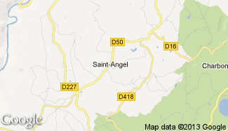 Plan de Saint-Angel