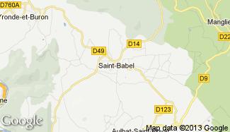 Plan de Saint-Babel