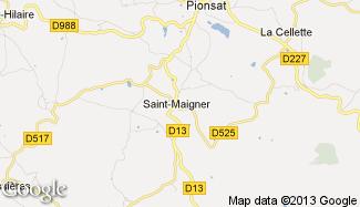 Plan de Saint-Maigner