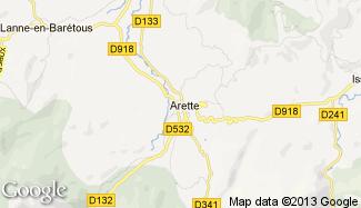 Plan de Arette