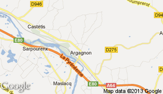 Plan de Argagnon