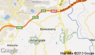 Plan de Bassussarry