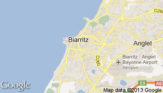 Plan de Biarritz