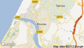 Plan de Boucau