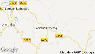 Plan de Lohitzun-Oyhercq