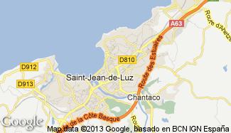 Plan de Saint-Jean-de-Luz