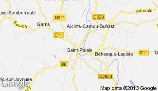 Plan de Saint-Palais