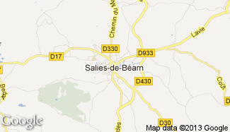 Plan de Salies-de-Béarn
