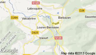 Plan de Loures-Barousse