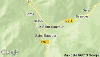 Plan de Luz-Saint-Sauveur