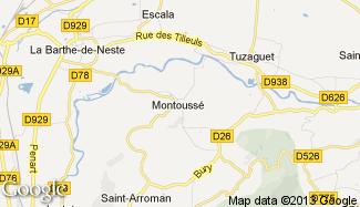 Plan de Montoussé