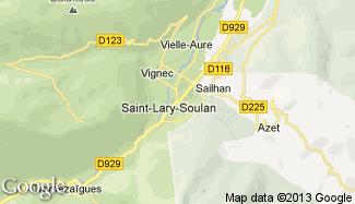 Plan de Saint-Lary-Soulan