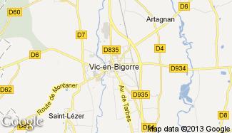 Plan de Vic-en-Bigorre