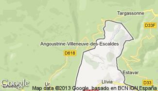 Plan de Angoustrine-Villeneuve-des-Escaldes