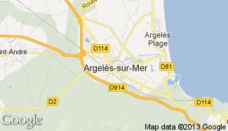 Plan de Argelès-sur-Mer