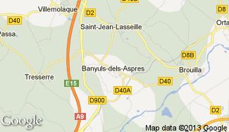 Plan de Banyuls-dels-Aspres