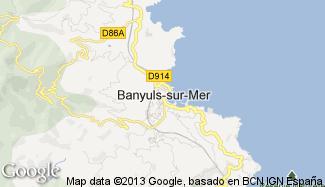 Plan de Banyuls-sur-Mer