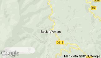 Plan de Boule-d'Amont