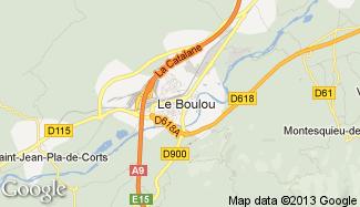 Plan de Le Boulou