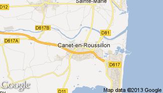 Plan de Canet-en-Roussillon
